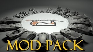 rFactor 2 Mod Pack - how to install Cars, Maps (ALL MODS in ONE Package) (2013 2014) modifcations.