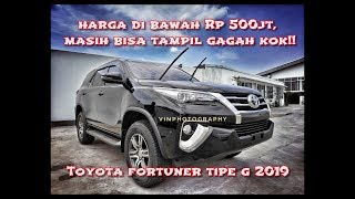 Toyota Fortuner 2 4 G MT 2019 - Walk Around Exterior & Interior