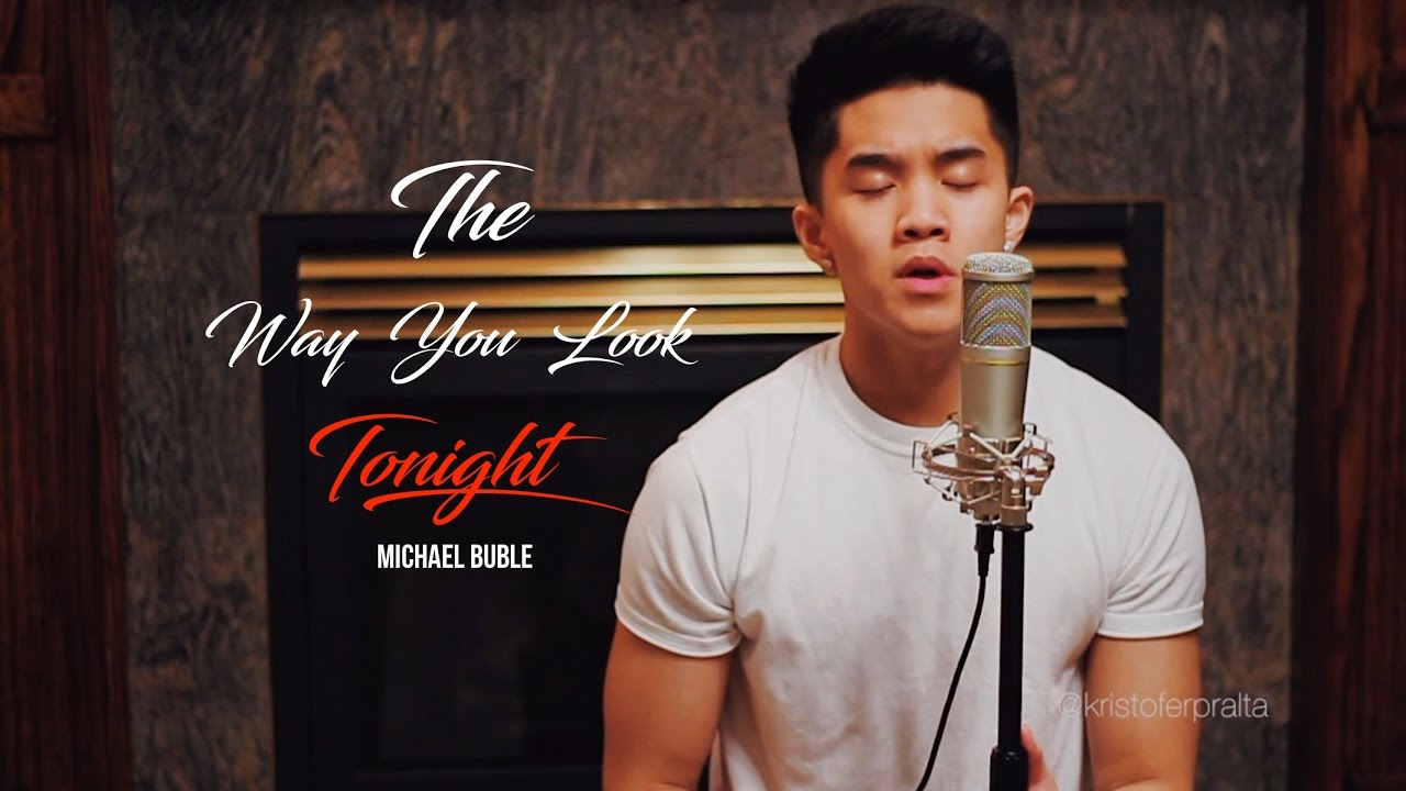 """""""The Way You Look Tonight"""" - Frank Sinatra (Cover) - YouTube"""