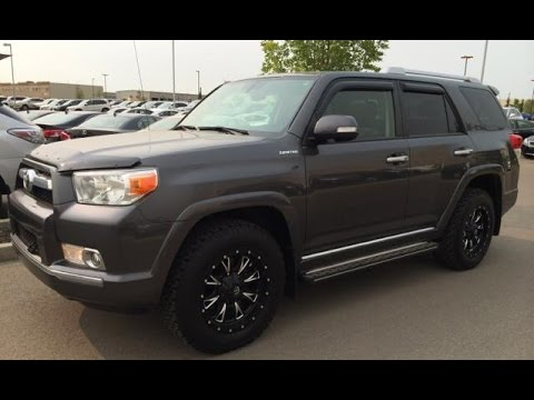 pre owned 2011 toyota 4runner 4wd 4dr v6 sr5 grey mineral exterior lacombe ab youtube. Black Bedroom Furniture Sets. Home Design Ideas