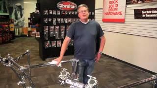 Custom Dj Rack: Gibraltar Hardware