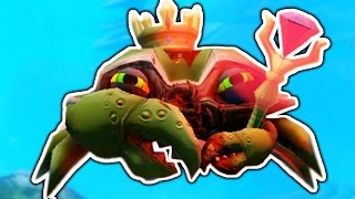 BECOMING GOD CRAB? (Feed and Grow)