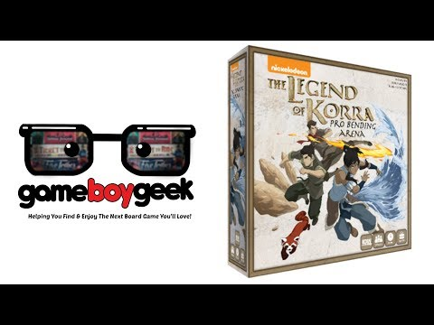 Legend of Korra: Pro Bender Arena Preview with the Game Boy Geek