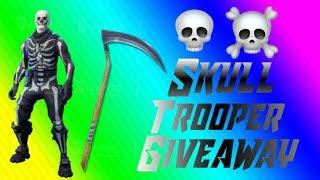 EPIC SKULL TROOPER GIVEAWAY! (Fortnite)
