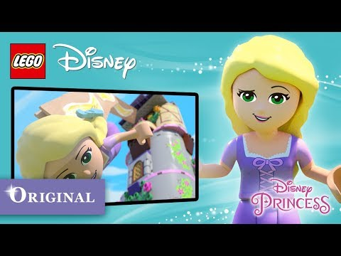"Rapunzel in ""Escape from the Tower"" - LEGO Disney Princess - Minisode"