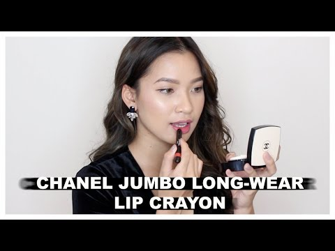 CHANEL JUMBO LONG-WEAR LIP CRAYON | HIGH-END LIPSTICK SWATCH 4 | || by THEMAKEAHOLICS