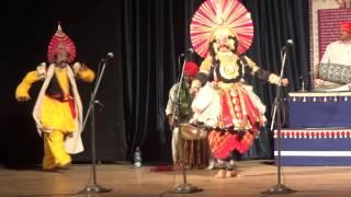 Yakshagana - Keechaka -Vidyadhara Jalavalli, Ramesh Bhandari