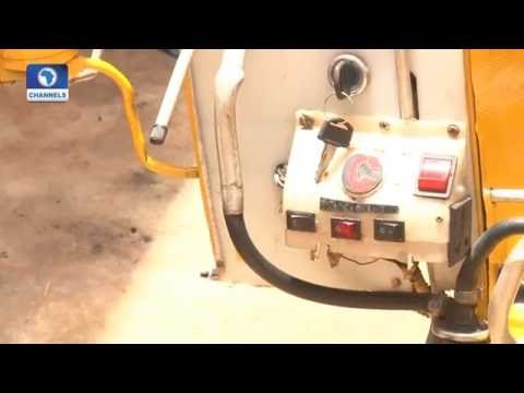 Eye Witness: Young Nigerian Fabricates Machine That Converts Wastes To Energy