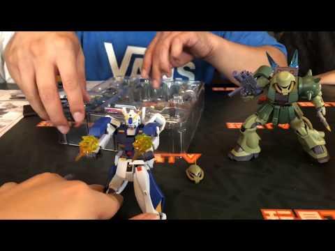 TOYSTV S6 EP3 P1「爆玩具」Robot Spirits RX-78 Gundam NT-1 & MS-06FZ Zaku II FZ Ver A.N.I.M.E. Unbox