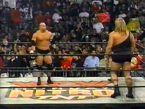 The Big Show (Giant) v.s Goldberg WCW Nitro 12/10/1998