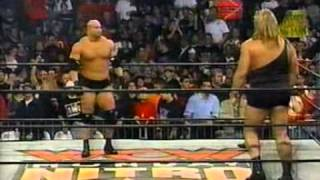 vuclip The Big Show (Giant) v.s Goldberg WCW Nitro 12/10/1998