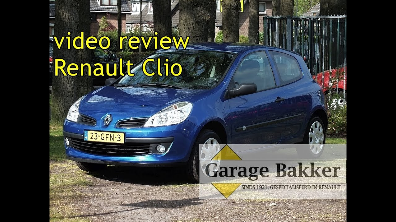 video review renault clio 1 2 16v special line 2008 23 gfn 3 youtube. Black Bedroom Furniture Sets. Home Design Ideas