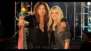 Steven Tyler & Carrie Underwood - Walk This Way - ACM Awards 2011 [HD]