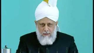 Friday Sermon : 25th September 2009 - Part 3 (Urdu)