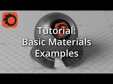 TUTORIAL: Basic Materials Examples