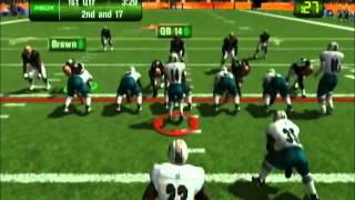 NFL Fever 2003 Dolphins vs Browns Part 1
