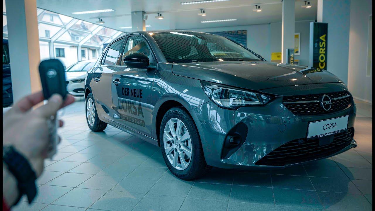 2020 Opel Corsa 1 2 Elegance Youtube