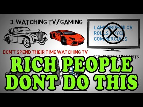 12 Things Rich People Don't Do (That Poor People Do)