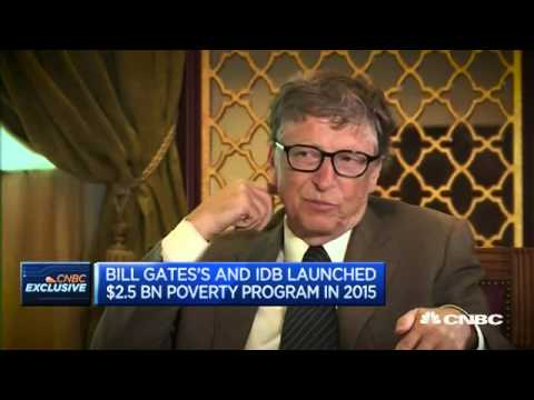 Bill Gates discusses corruption, oil and helping the worlds poor