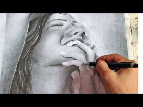 Draw Portrait  Model pencil Sketch Detail Technique Hindi