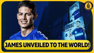 How Everton Unveiled James Rodriguez To The World