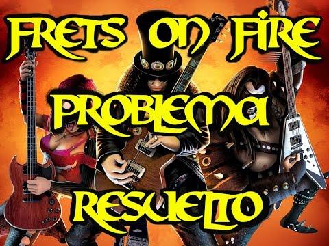 Descargar  Frets On Fire modo guitar hero 3 y resolver el problema (SEE THE LOGFILE)