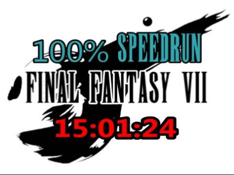 Final Fantasy VII : 100% Speedrun in 15:01:24 (WR)