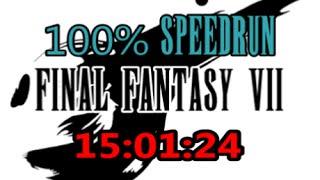 Final Fantasy VII : 100% Speedrun in 15:01:24 (WR)