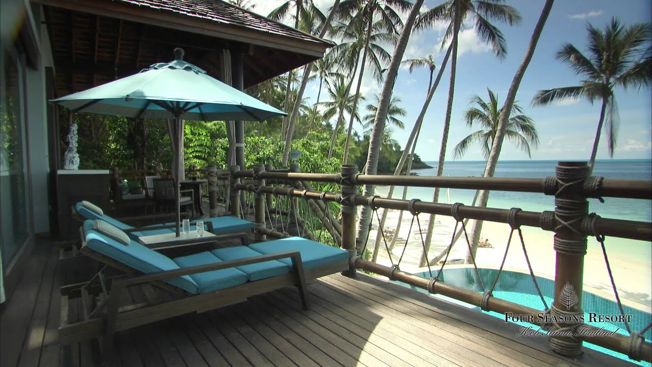 Four Seasons Koh Samui   The Ultimate Thailand Beach Resort   YouTube