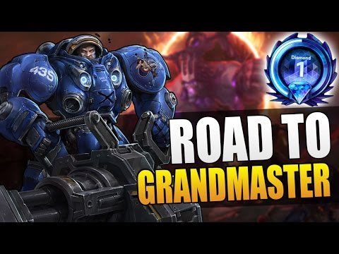 Tychus - TLV on Infernal Shrines // Road to Grandmaster S3 // Heroes of the Storm