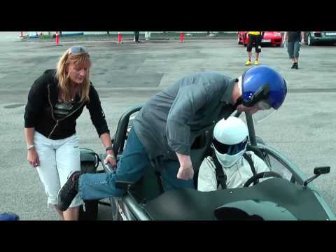 Driving with The Stig in an Ariel Atom
