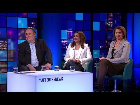 After the News: Alex Salmond, Ayesha Hazarika & Julia Hartley-Brewer