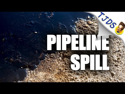 Pipeline Bursts In North Dakota