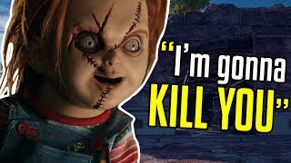 Funny Voice Chat - Chucky Joins my Team - PUBG
