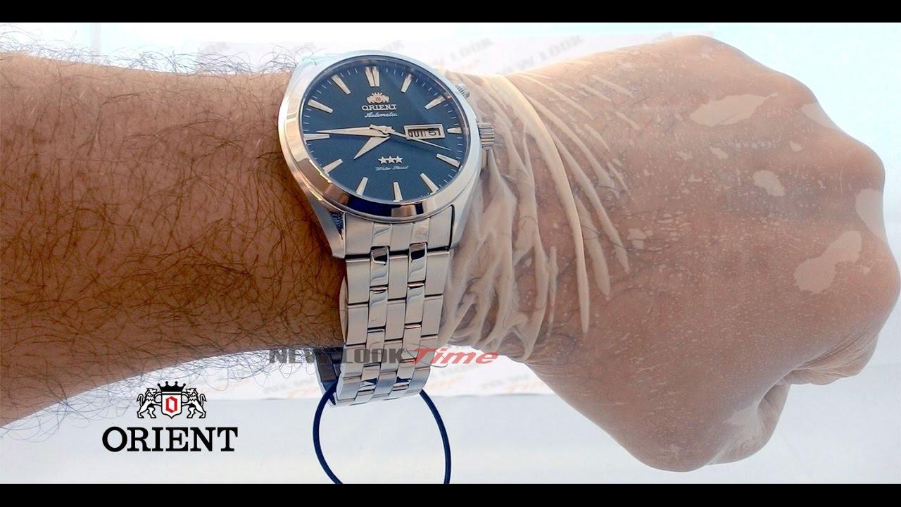 26625c4c77a Relógio ORIENT Automático 469SS041 E1SX - New Look Time Relógios ...