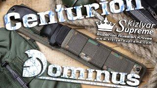Обзор ножей Dominus и Centurion от Kizlyar Supreme