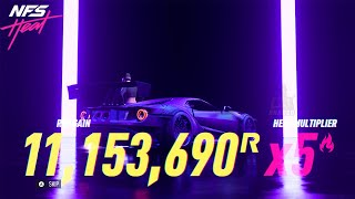 NFS Heat - EARN 11,000,000 REP Per Night In Need For Speed Heat! Level Up FAST!(NFS HEAT REP GLITCH)