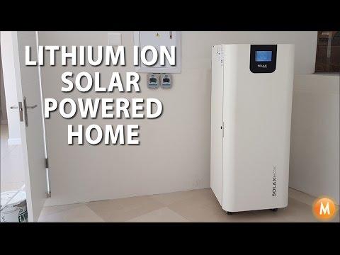M Solar Power - Scott's Lithium Ion Storage System