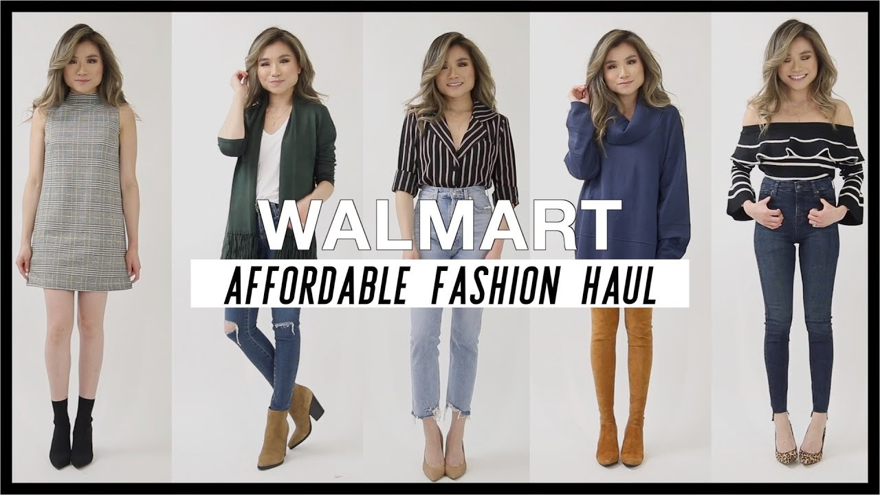 4a405138a42 Walmart Affordable Try On Fashion Haul