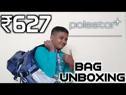 Unboxing of Polestar Treking Hiking Rucksuck Bag