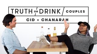 Couples Play Truth or Drink (Chanarah & Cid) | Truth or Drink | Cut