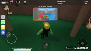Playing again with master's degree - ROBLOX in Spanish