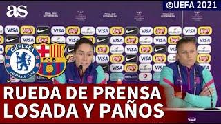 CHELSEA - BARCELONA (F) | Rueda de prensa de VICKY LOSADA y SANDRA PAÑOS | AS