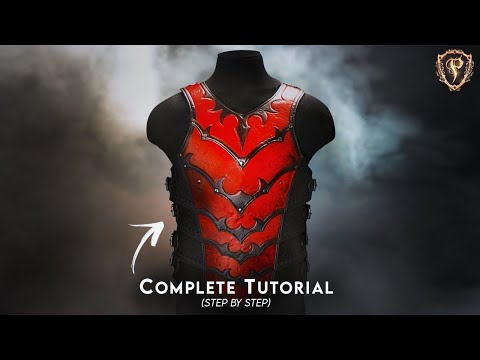 Fantasy Breastplate Pattern Prince Armory