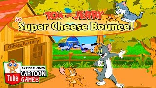 Fun Tom and Jerry - super cheese bounce games . Tom and Jerry 2017 Games. Baby Games #LITTLEKIDS