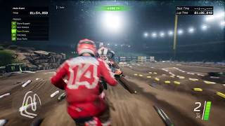 Monster Energy Supercross - The Official Videogame gameplay