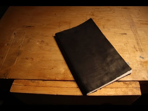 Making a Leather Bound Book