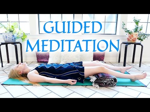 Guided Meditation for Deep Relaxation & Positivity | Ease Anxiety, Stress, Breath, Relaxing Music,