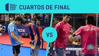 Resumen Cuartos de Final Paquito/Lebrón Vs Chingotto/Tello Estrella Damm Valencia Open