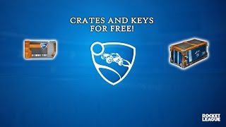HOW TO GET KEYS AND CRATES FOR FREE ON ROCKET LEAGUE IN 2017 ON PS4 AND STEAM (NOT ON XBOX)
